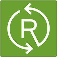 Recyceltes Material Logo